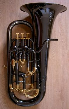 This has to be the most beautiful euphonium ever