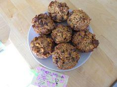 Biologische wortel-hazelnoot muffins (suikervrij en zuivelvrij)