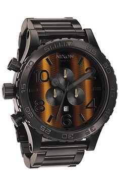The Nixon 51-30 Chrono Watch in Tigerseye