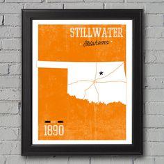 Oklahoma State University -- Stillwater, OK Print