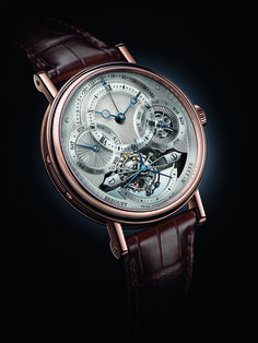 By Meor Amri Meor Ayob For Baselworld Brequet once again showed the world the designing and manufacturing prowess with another awesome grand complication watch. The Breguet Classique Tourbillon Quantième Perpétuel 3797 features a very large tourbillon Gents Watches, Fine Watches, Cool Watches, Watches For Men, Tourbillon Watch, Junghans, Popular Watches, Latest Watches, Men Stuff