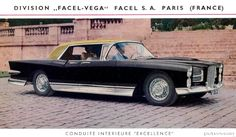 The '57 Facel Vega. It just doesn't get any classier