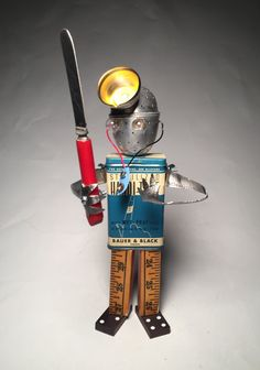 Hey, I found this really awesome Etsy listing at https://www.etsy.com/listing/293598275/the-doctor-is-tin-assemblage-art-robot