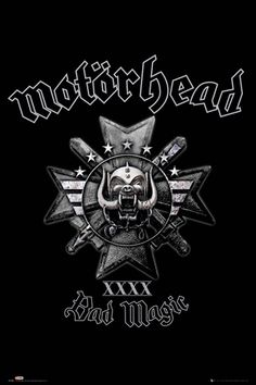 Poster MOTORHEAD - Bad Magic - http://rockagogo.com