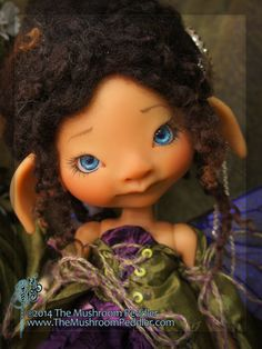 Ivy tan resin - nude with face up - BJD ball joint doll - Preorder Open June 12th to July 3rd on Etsy, $488.00