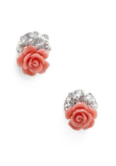 13. Perfect Modcloth Accessories #modcloth #wedding Pink roses are the symbol for love as well as elegance and grace, everything you should feel on your wedding day. Understated but perfect.