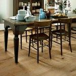 """Brand: Kährs Wood Floor Model: 151N9MEKAMKW Range: Kährs Original Collection: Bayside Collection Color: Oak Amatique Design: 1-strip Surface Treatment: Matte finish Refining Treatment: Microbevelled 4-sided, Brushed Grading: Country Hardness (Brinell value): 3.7 Surface layer: 1/8"""" (3.5 mm) Core Material: Spruce/Pine"""