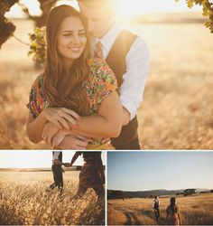 Loving the first one.. Engagement pictures ♡