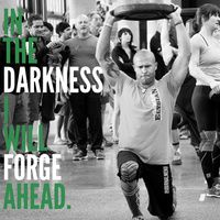 In the darkness I will forge ahead. I will ignore the voice in my head whispering nonsense. I will ignore my muscles screaming excuses. I will ignore my breath burning inside. I have places to go, goals to crush and WODs to smash. I will not let the darkness take me in. Today it is lightweight and easy reps. Today is my day to shine. And I am going to go out there and kill it.  #beastmode #fitness #muscle #fitfam #motivation #exercise #bodybuilding #gym #WOD