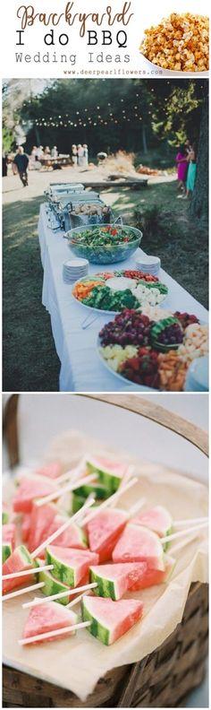 I do BBQ backyard wedding ideas Country Barn Weddings, Country Wedding Decorations, Rustic Weddings, Outdoor Weddings, Wedding Rustic, Wedding Reception Music, Reception Ideas, Wedding Venues, Yard Wedding