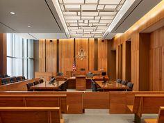 courtroom interior design - Google Search
