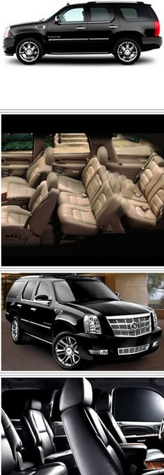 Cadillac escalade (Suv sport utility vehicle) - Good and comfortable vehicle for medium group for a nice and safe trasportation in the city.   #cadillacescalade    #carservices