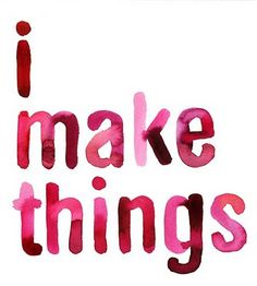 """:: shades of  :: PINK ::  QUOTES :: """"i make things, adore handwriting simple and sweet #pink #quotes"""