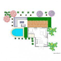 projet n3 Floor Plans, Diagram, How To Plan, Drawing Drawing, Floor Plan Drawing, House Floor Plans