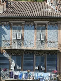 Trompe L'Oeil house in Sospel