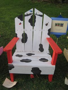 "adirondack chair  ""we need more cowbell"" by maurythinks, via Flickr"