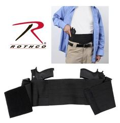 10769-Group-HR.jpg Rothco Ambidextrous Concealed Elastic Belly Band Holster is designed to be worn under your clothing or uniform it discreetly and securely holds your handguns close to your body.