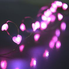 perfect valentines day party decorations stringlights vdaydecor oogalightscom led acrylic - Valentine String Lights