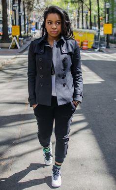 Trench coat style #trenchcoat #styleblogger