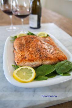 Skillet Roasted Salmon