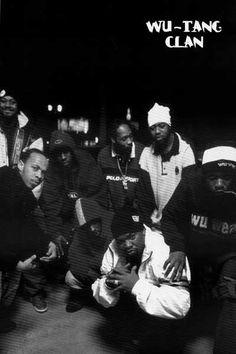 Wu-Tang Clan RZA Method Man Group Shot Music Poster 24x36