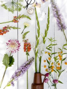Be creative with flowers this summer