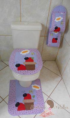 Jogo banheiro joaninha