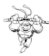 Online Leonardo Teenage Mutant Ninja Turtles coloring page ...