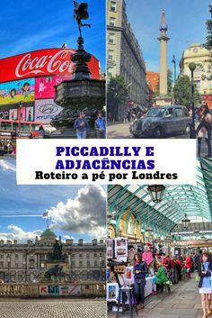 Roteiro a pé por Londres - Piccadilly e adjacências