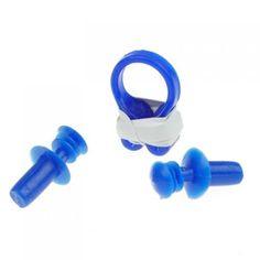 UESH- Swimming Nose Clip Ear Plug Earplug Soft Silicone #Affiliate