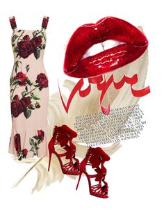 """""""A night in Italy xox"""" by tracey-ch ❤ liked on Polyvore featuring moda, Dolce&Gabbana y Giuseppe Zanotti"""