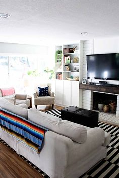 Before & After: A Modern-Bohemian Fixer-Upper in Southern California   Design*Sponge