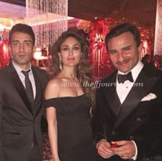 Wawo  Saif Ali Khan & Kareena Kapoor Khan celebrate New Year's Eve at Gstaad palace #dolcegabbana  .