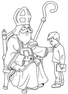 coloring pages of st nicholas Google Search Catholic Culture