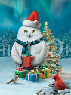 """""""May peace be your gift at Christmas and your blessing all year through! Christmas Animals, Christmas Colors, Christmas Art, Christmas Greetings, Beautiful Christmas, Christmas Themes, Winter Christmas, Christmas Posters, Christmas Videos"""