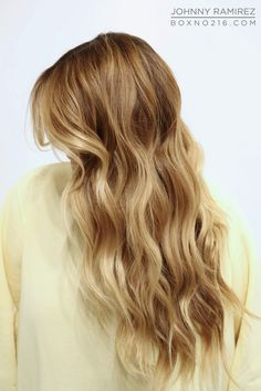 perfect winter blonde.