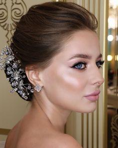 La imagen puede contener: una persona, primer plano Make-up for me personally is not some Natural Wedding Makeup, Wedding Makeup Looks, Bridal Hair And Makeup, Hair Makeup, Beauty Make-up, Beauty Hacks, Hair Beauty, Make Up Looks, Day Makeup Looks