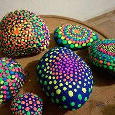 Photo from guacatito... Neon mandalas!!
