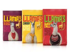 Llama's on Packaging of the World - Creative Package Design Gallery