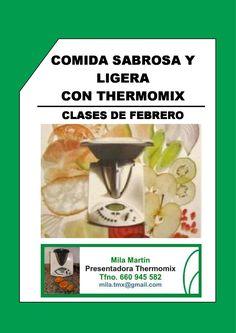 Recetas de Thermomix de la clase especial de Febrero Sabrosa y Ligera