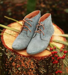 Grey Suede Nomad Booties from Sseko Designs. Every pair purchased helps a girl pursue her dreams of attending university.