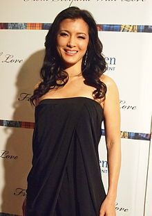 Kelly Hu - born in Honolulu, Hawaii. Actress and ex model. Is native American, English American, Chinese American.