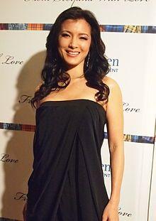 Kelly Hu - born in Honolulu, Hawaii. Actress and ex model. Is native American, English American, Chinese American.