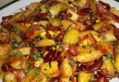 Mexikói burgonyás bab Good Food, Yummy Food, Tasty, Vegetable Recipes, Chicken Recipes, Mexican Potatoes, Vegas, Mexican Food Recipes, Ethnic Recipes