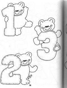 Números ursinho