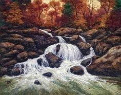"""""""Autumn Rush"""" by Tracey McCracken Palmer of Bonnieblink Studio"""