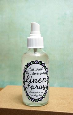 Make your own natural homemade lavender and eucalyptus scented linen spray that neutralizes and eliminates stinky odors in your home and on fabrics without chemicals! This all natural deodorizing spray neutralizes odors with the power of distilled white vinegar and a blend of natural essential oils. Because it's concentrated simply mist lightly onto fabrics, furniture, shoes, gym bags and even stinky dog beds to kick the stink and leave behind a fresh scent that doesn't smell like ...