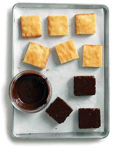 Coconut-Macaroon Sundaes Recipe. Click through!