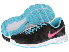 Nike Revolution 2 Wolf Grey/Cool Grey/Digital Pink/Neo Turquoise - Zappos.com Free Shipping BOTH Ways