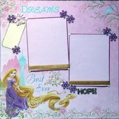 Disney Scrapbook Page Layouts | Add it to your favorites to revisit it later.